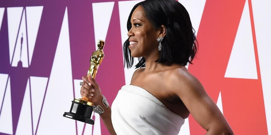 Oscar 2019 Regina King Is The Best Supporting Actress Photos The