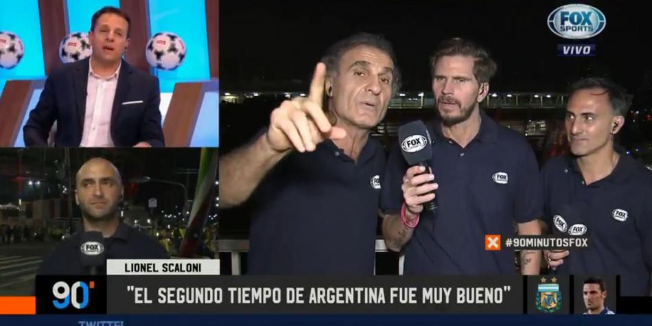 Argentina vs. Colombia: Óscar Ruggeri y la tensa discusión con panel de Fox Sports