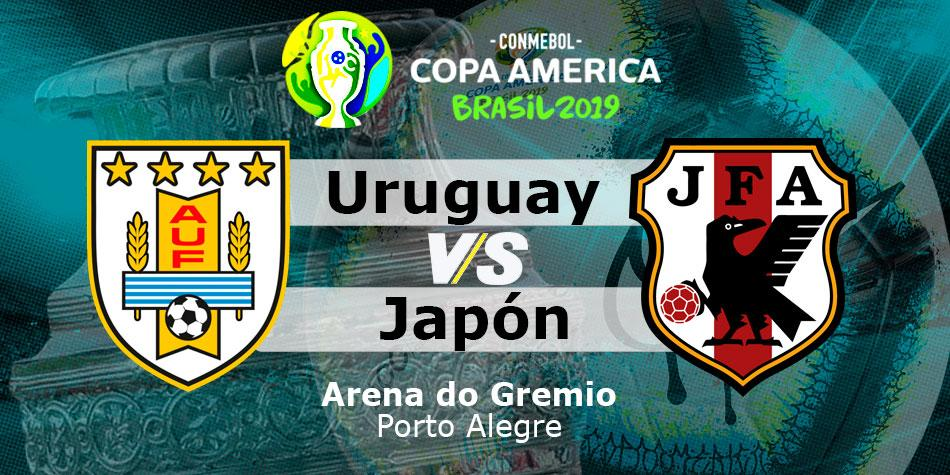 Watch online, Uruguay vs  Japan for Copa América: Where is today's