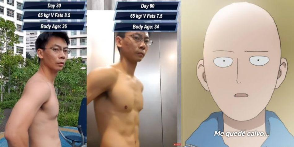 One Punch Man Exercise Challenge