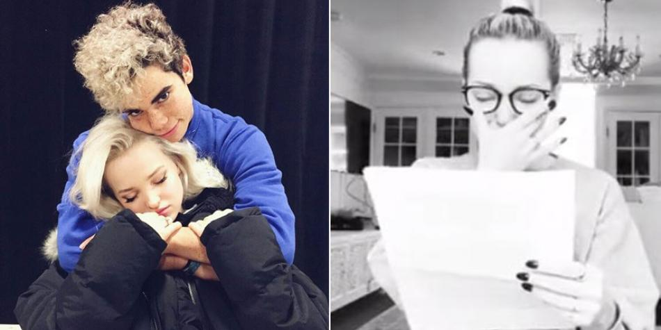 Cameron Boyce Has Died Dove Cameron Cries On Instagram As He Says