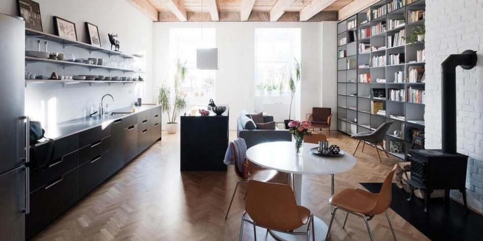 Apartments between 51 and 80 square meters are the best