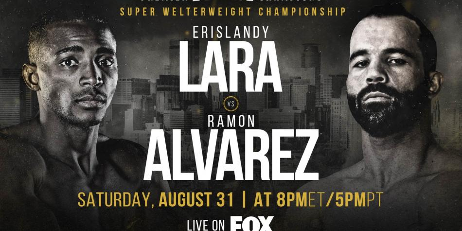 Erislandy Lara vs. Ramón Álvarez EN VIVO vía FOX Action: pelea de boxeo en Minneapolis por peso superwélter