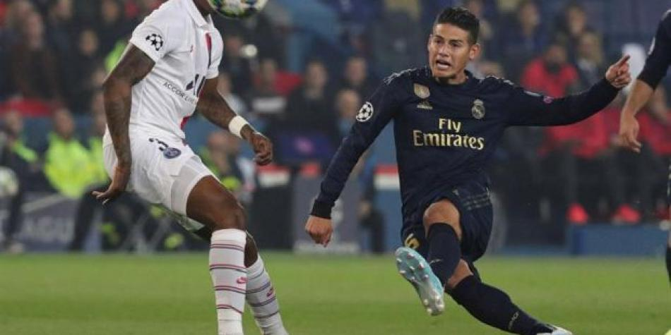 James Rodríguez tras derrota del Real Madrid ante PSG: