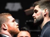 'Canelo' Álvarez vs. Rocky Fielding: el careo previo al choque por el título supermediano de la AMB | VIDEO