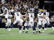 Los Angeles Rams derrotaron 26-23 a los Saints y clasificaron al Super Bowl LIII | VIDEO