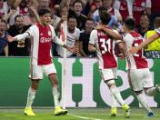 Edson Álvarez anotó nuevamente un gol con Ajax en la Champions League | VIDEO