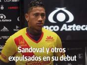 Ray Sandoval y otros expulsados en su debut [VIDEO]