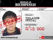 Capturan a requisitoriado por violación sexual en Huancayo