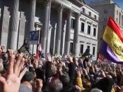 Jubilados que demandan pensiones dignas repudian a Rajoy [VIDEO]