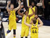 Pacers vencieron 92-90 a Cavaliers en Indiana por los Playoffs de NBA