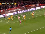 Atlético Madrid vs. Arsenal: Lacazette marcó golazo de cabeza para el 1-0 | VIDEO