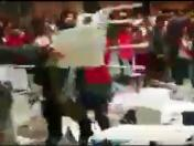 Perú vs. Francia: desmanes y violencia en el mall de Bellavista [VIDEO]