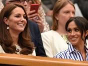 Kate Middleton y Meghan Markle lucen looks opuestos (y perfectos)