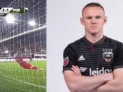 Wayne Rooney le hizo este brillante gol al equipo de Andy Polo en la MLS | VIDEO