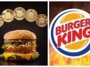 Buger King regalará Whoopers por 50 años de la Big Mac en Chile
