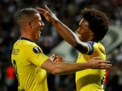Chelsea ganó 1-0 al PAOK en Grecia, con gol de Willian, por Europa League | VIDEO