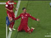 Bayern Múnich vs. Schalke: James Rodrígez anotó el 1-0 con este notable cabezazo | VIDEO