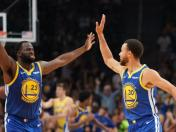 Golden State Warriors vencieron 108-100 a los Oklahoma City Thunder en el inicio de la NBA