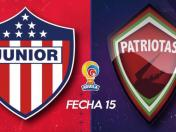 Junior vs. Patriotas EN VIVO vía Win Sports: HOY se miden por Liga Águila | EN DIRECTO