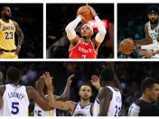 NBA: Warriors, Lebron James, Houston con su Big 3 y los candidatos a dar pelea esta temporada | VIDEO
