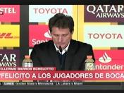 River vs. Boca: Guillermo Barros Schelotto y su dolor en la conferencia de prensa | VIDEO