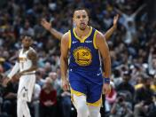 NBA: Warriors vencieron 142-111 a los Nuggets por la Conferencia Oeste