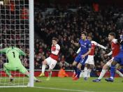 Arsenal vs. Chelsea: mira el golazo de Alexandre Lacazette para el 1-0 en el Emirates Stadium | VIDEO
