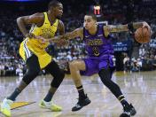 Lakers vs. Warriors EN VIVO ONLINE vía NBA TV: HOY duelo Durant-Kuzma en el Staples Center de Los Angeles