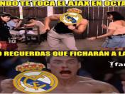 Real Madrid vs. Ajax: los divertidos MEMES que dejó la victoria merengue en la Champions