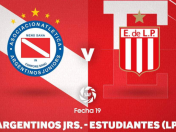 Argentinos Juniors vs. Estudiantes EN VIVO ONLINE vía TNT Sports: juegan por la Superliga Argentina