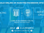 Racing vs. Godoy Cruz EN VIVO ONLINE vía Fox Sports: juegan por la Superliga Argentina
