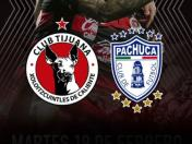 Pachuca vs. Tijuana EN VIVO vía Fox Sports 2: 'Xolos' vencen 2-1 en el Estadio Caliente por Copa MX
