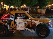 Rally Cross Country: Nicolás Pacheco y Ashley García compiten en Qatar