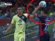 América vs. Lobos BUAP: Beto Da Silva simuló agresión en el Estadio Azteca | VIDEO