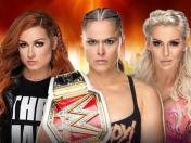 Wrestlemania: WWE anunció primer main event femenino con Ronda Rousey vs. Becky Lynch vs. Charlotte Flair
