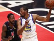 Warriors ganó 113-105 a Clippers y ponen la serie 3-1 a su favor por los play offs de la NBA