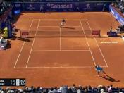 Rafael Nadal y la tremenda salvada ante Leonardo Mayer [VIDEO]