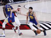 Warriors vs. Blazers EN VIVO ONLINE vía ESPN: juego 4 de la final de la Conferencia Oeste por la NBA