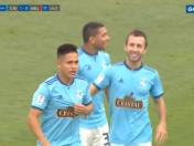 Sporting Cristal vs. Melgar: Calcaterra colocó el 1-0 en el estadio Alberto Gallardo | VIDEO