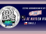 God Level Chile EN VIVO: Chile vs. Argentina en final de segunda fecha del campeonato de freestyle 3vs3
