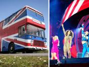 Descubre el universo decorativo del bus original de las Spice Girls |FOTOS