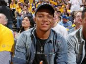 Warriors vs. Raptors: Kylian Mbappé asistió al sexto juego por final de NBA en el Oracle Arena | FOTOS