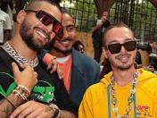 J Balvin y Maluma se encuentran en el Paris Fashion Week