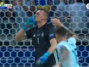 Argentina vs. Paraguay: Armani atajó este penal con una notable intervención | VIDEO
