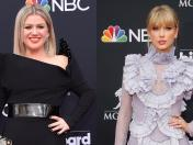 Kelly Clarkson anima a Taylor Swift a re-grabar sus canciones tras disputa con Braun