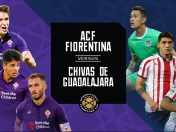 Chivas vs. Fiorentina EN VIVO ONLINE vía DirecTV Sports: juegan por la International Champions Cup
