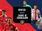 Chivas vs. Benfica EN VIVO ONLINE vía DirecTV Sports: juegan HOY por la International Champions Cup