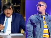 Jaime Bayly criticó la música de Bad Bunny | VIDEO