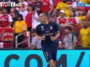 Bale aprovechó un rebote para anotar en el Real Madrid vs. Arsenal | VIDEO